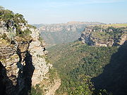 View from near Baboon's Castle, Oribi gorge