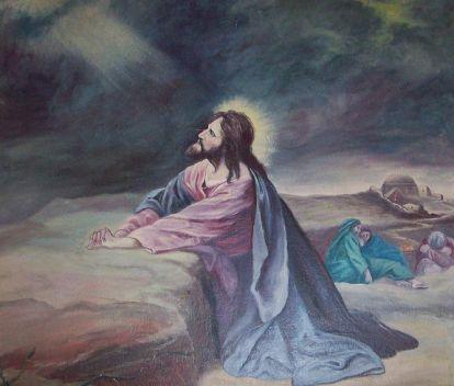 File:Painting of Christ in Gethsemane.jpg