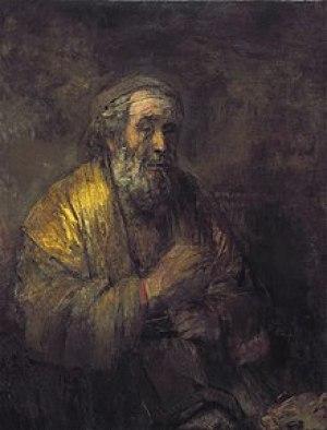 Ο Όμηρος, έργο του Ρέμπραντ