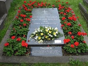Grave of Richard Tauber, Brompton Cemetery, Lo...