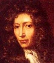 Robert Boyle, perintis kimia modern dengan menggunakan eksperimen terkontrol, sebagai kontras dari metode alkimia terdahulu.