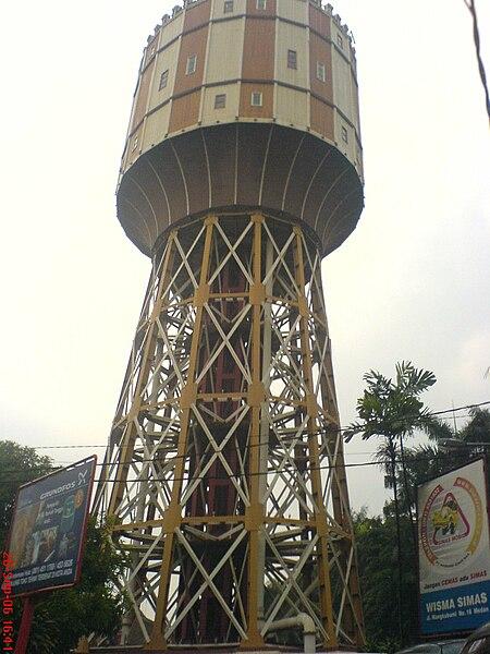 Kota Medan, Tower Kota Medan, Tirtanadi Tower, Tower Air, Simbol Kota Medan