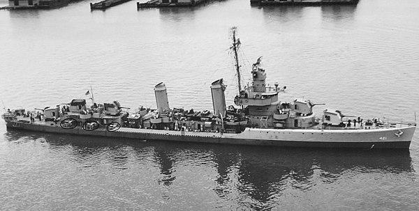 洛陽號驅逐艦 (1954年) - Wikiwand