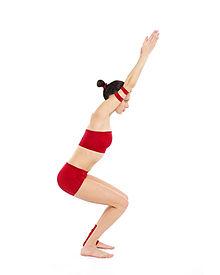 yoga chair pose designboom utkatasana wikipedia
