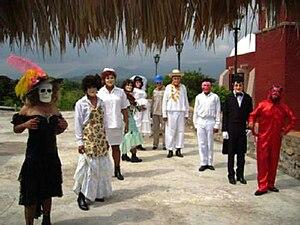 Xantolo costumes
