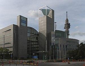 English: YLE headquarters in Helsinki, Finland...