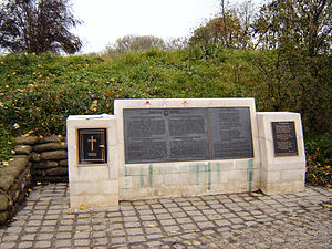 """In Flanders Fields"" memorial on the..."