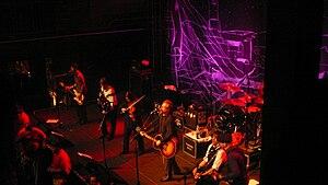 Flogging Molly performing live at Rams Head Li...