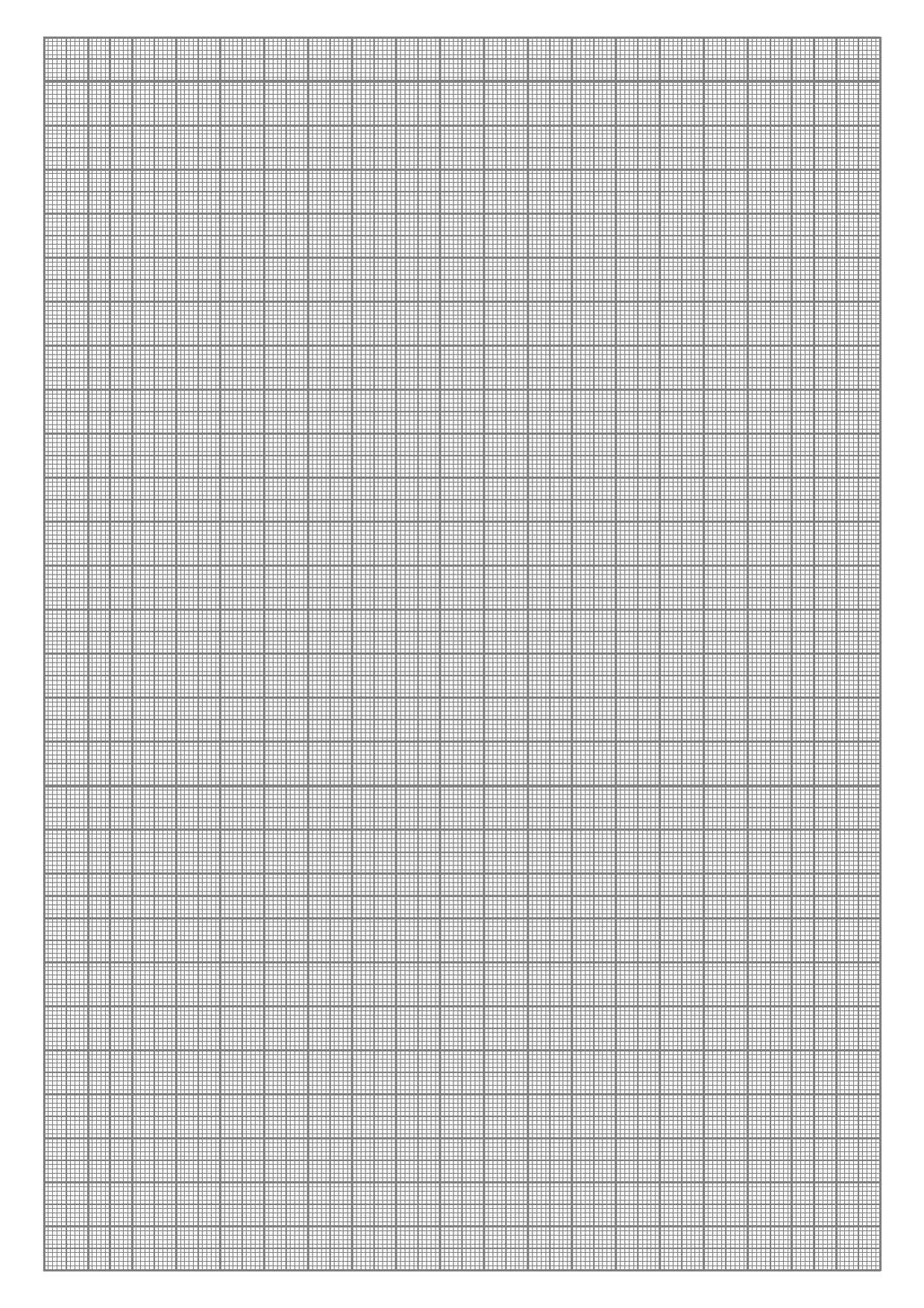 File Graph Paper Mm A4