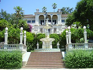 English: Hearst Castle, San Simeon, CA. Nederl...