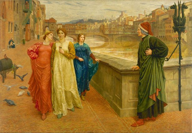 """""""Dante and Beatrice"""" by Henry Holiday"""