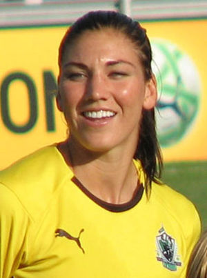 English: Hope Solo
