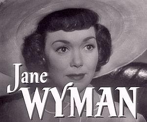 English: Cropped screenshot of Jane Wyman from...