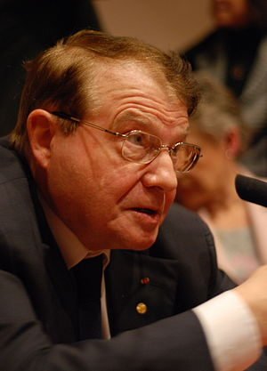 English: Luc Montagnier, Nobel Prize Laureate ...