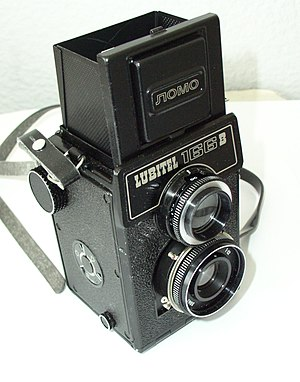 English: A Picture of my Lubitel camera