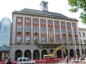 Deutsch: Das Rathaus in Neuss, Aufnahme von 2008