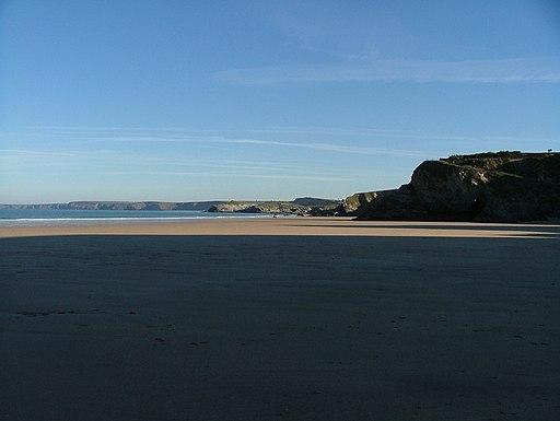 Newquay beach - panoramio