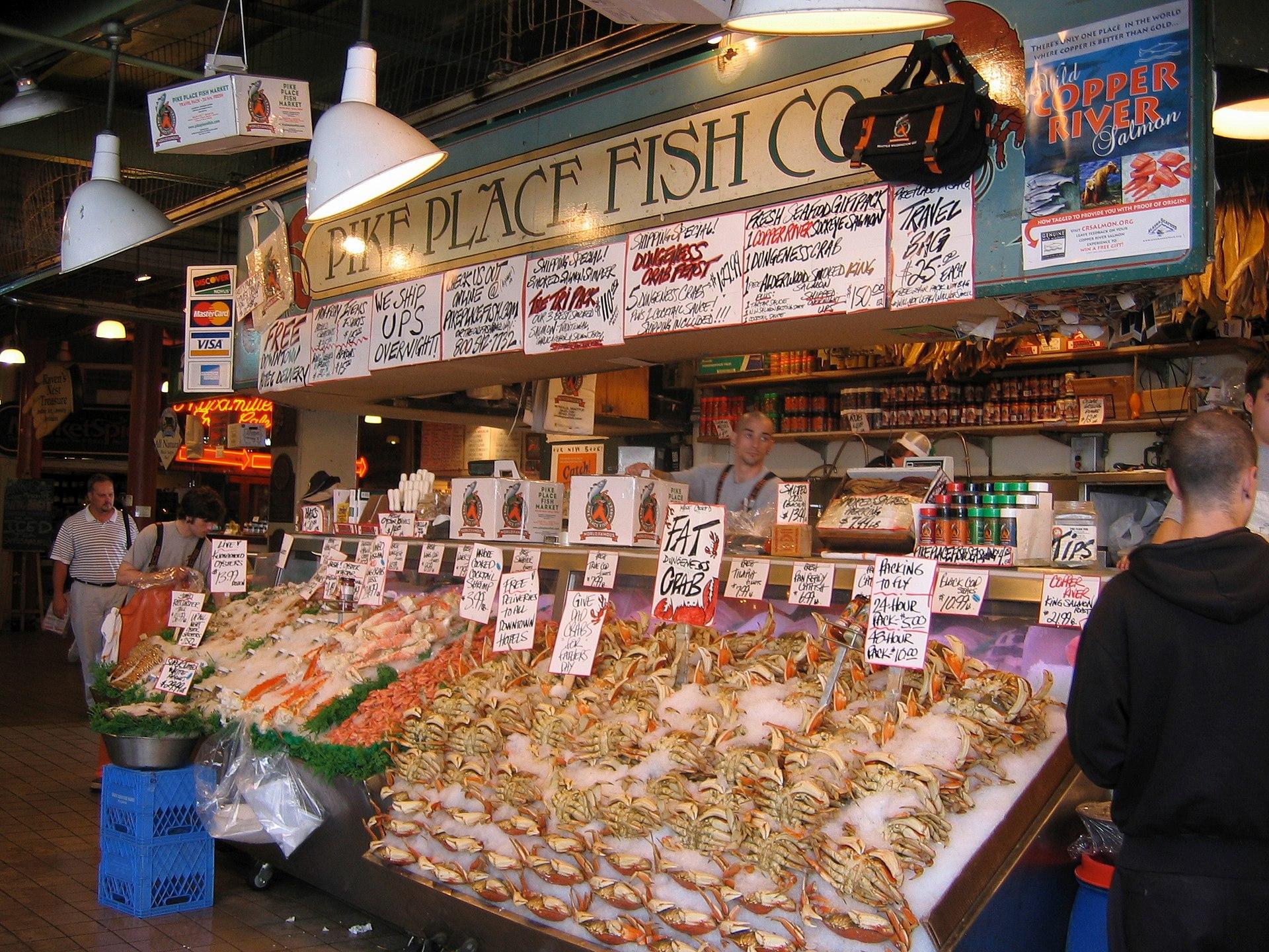 Fish Restaurant Fishermans Wharf
