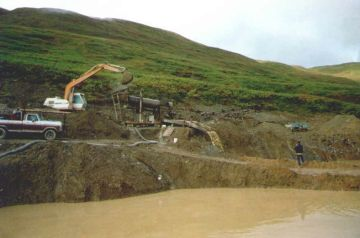 File:Placer Gold Mining Trommel Blue Ribbon Mine Alaska.jpg