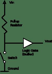 Подтягивающий резистор — Википедия