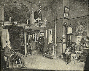 """Office of Butterworth & Sons, Undertaker..."