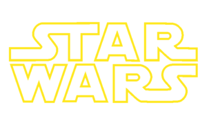 English: Opening logo to the Star Wars films F...