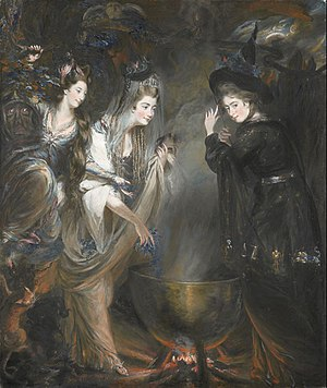 The Three Witches from Shakespeares Macbeth by...