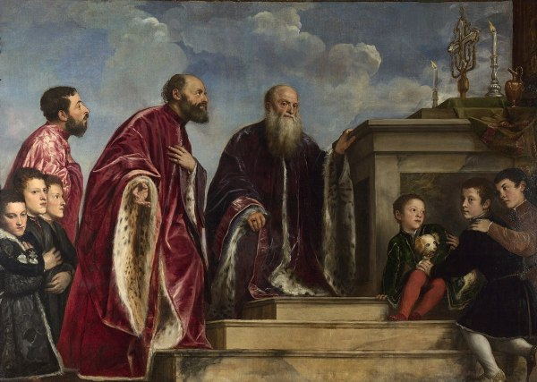 Titian Portrait of the Vendramin Family