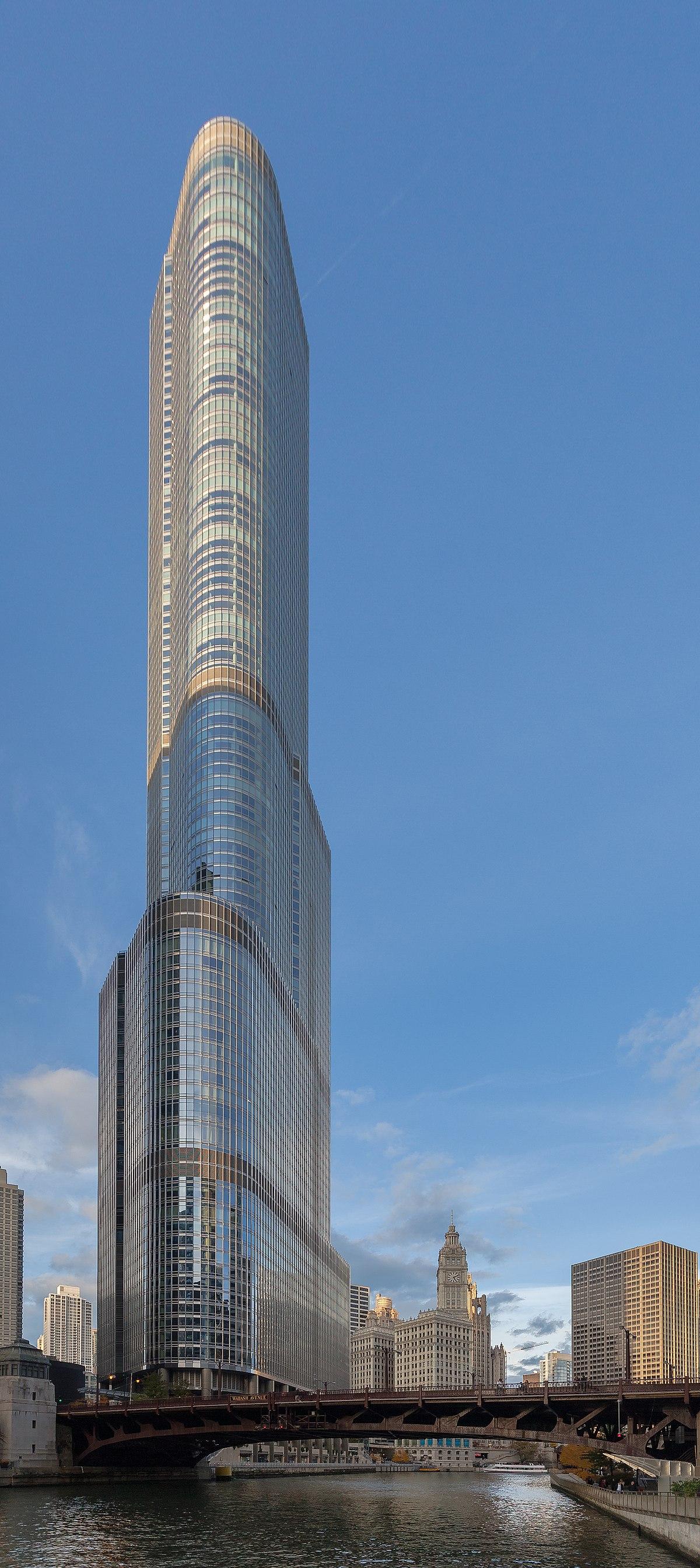 川普國際酒店大廈 (芝加哥) - 維基百科,自由的百科全書