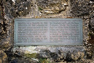Memorial Plaque, 1916 (Easter Rising) - 1921, ...