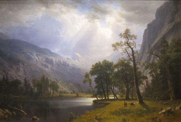 File Yosemite Valley Albert Bierstadt 1866 Cleveland