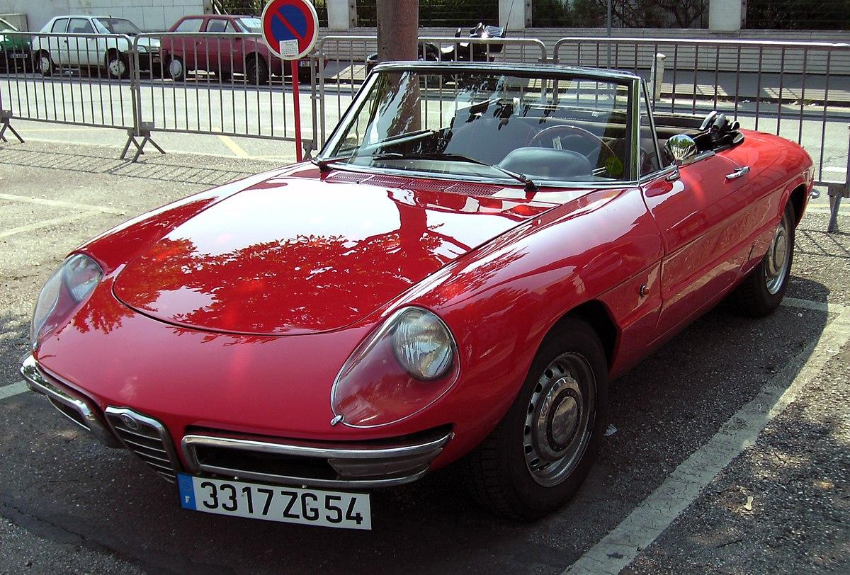 Alfa Romeo Spider (duetto)  Wikipedia