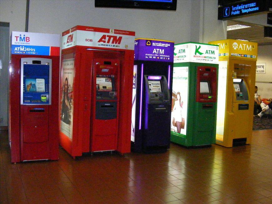 ATM Saat Wisata di Thailand