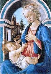 Madonna And Child Botticelli Avignon : madonna, child, botticelli, avignon, File:BotticelliMadonnaConBambinoAvignone.jpg, Wikimedia, Commons