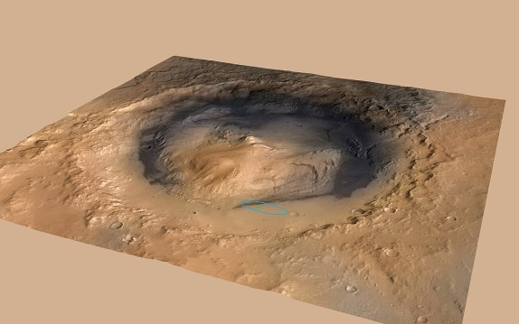Image result for gale crater