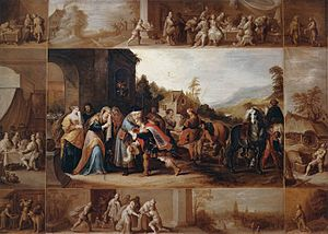 Frans Francken (II) - The Parable of the Prodi...