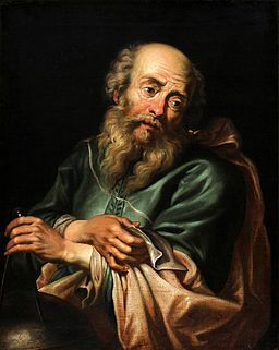 Galileo Galilei por Peter Paul Rubens