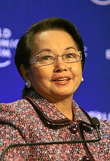 Philippines President Gloria Macapagal-Arroyo
