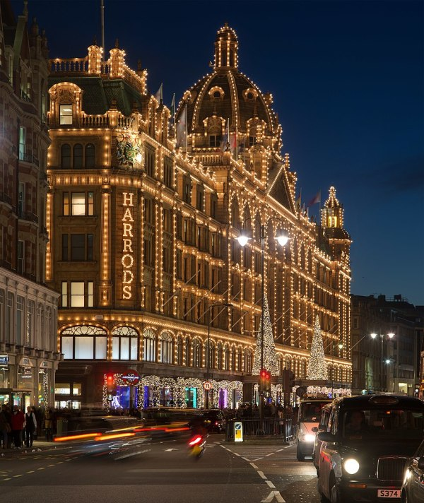 Harrods London Christmas