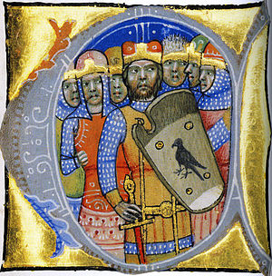 Miniature of the Seven Chieftains of the Magyars