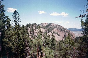 Inyan Kara, in the Black Hills is a sacred mou...