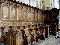 Sillera del coro  Wikipedia la enciclopedia libre