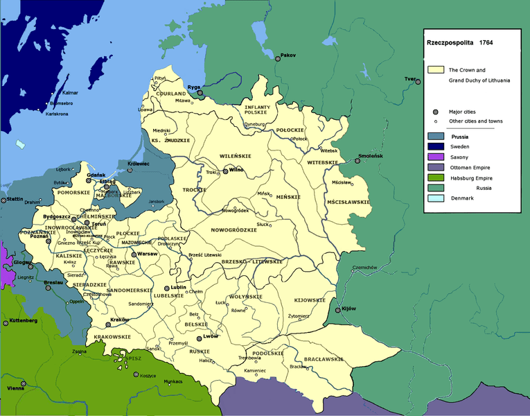 File:Polish-Lithuanian Commonwealth in 1764.PNG