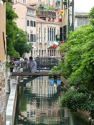 Français : Rio de la Frescada (Venice)