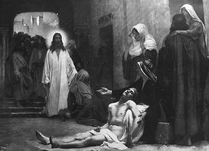 Jesus Christ in Capernaum