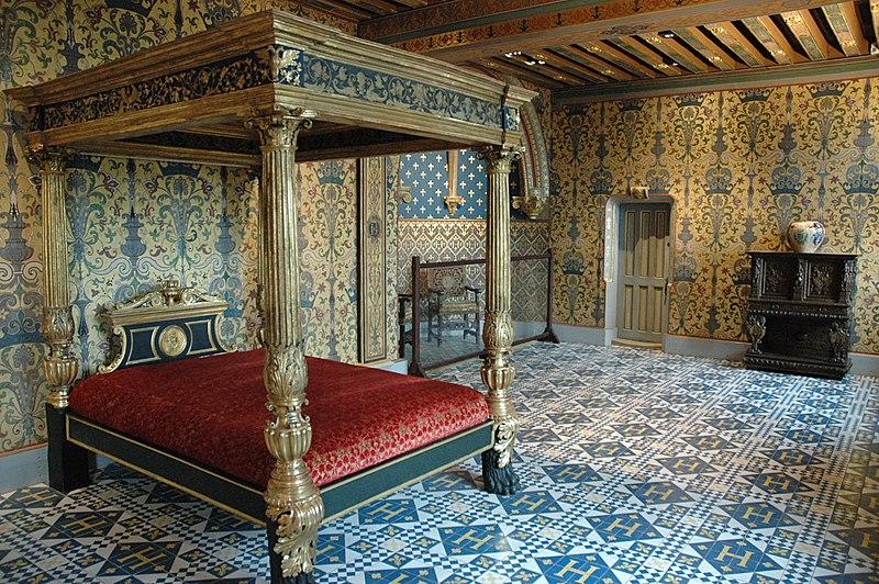 SchlossBloisSchlafzimmerdesKoenigs