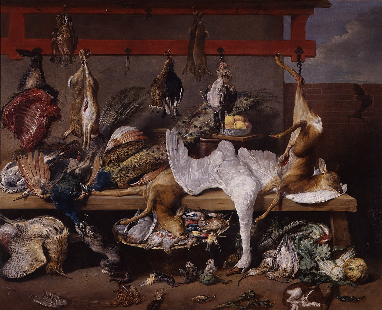 FileSnydersFranz Table de cuisine avec gibier et lgumesjpg  Wikimedia Commons