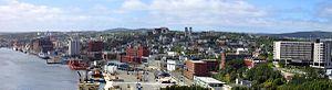 Downtown St. John's.