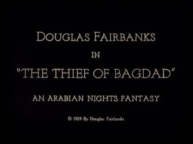 Archivo:The Thief of Bagdad (1924).webm