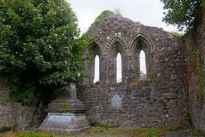 13th-century east window of Temple Jarlath